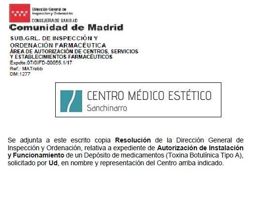 Autorización Farmacia